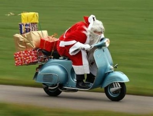 Natale in moto - Foto  di