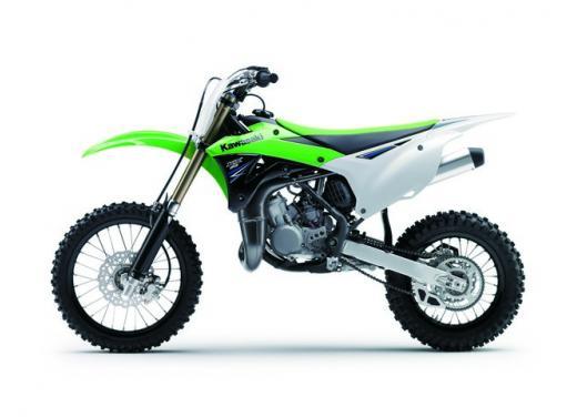 Nuova Kawasaki KX85, nuovo design e maggiori prestazioni per i futuri campioni di cross