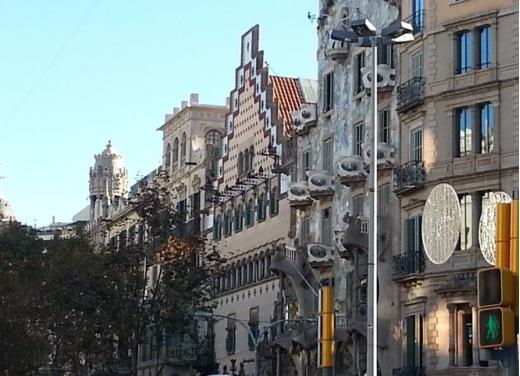 Nuova Vespa Primavera prova su strada a Barcellona - Foto 12 di 12