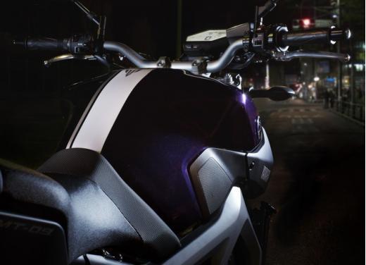 Nuova Yamaha MT-09: il tre cilindri che non ti aspetti - Foto 15 di 18