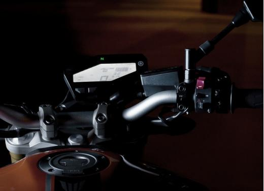 Nuova Yamaha MT-09: il tre cilindri che non ti aspetti - Foto 16 di 18