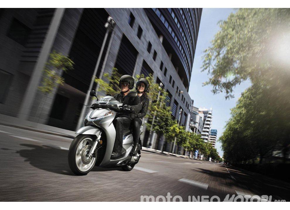 Nuovo Honda SH 300i ABS 2016
