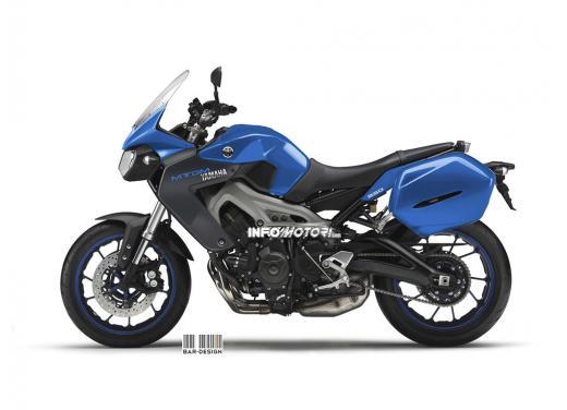 Nuovo Yamaha TDM su base MT-09