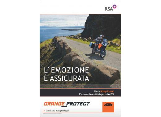 Orange Protect, l'assicurazione dedicata a KTM 125 Duke, KTM Adventure 990 ed alle altre moto stradali e da enduro - Foto 1 di 4