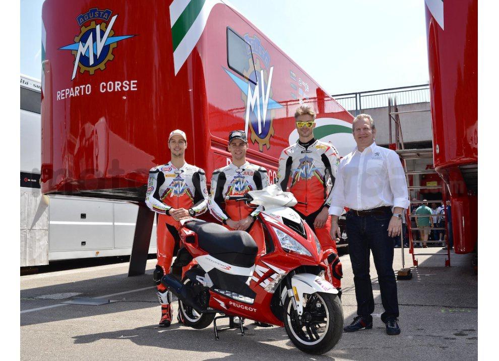 Peugeot Scooters è partner di MV Agusta in Superbike