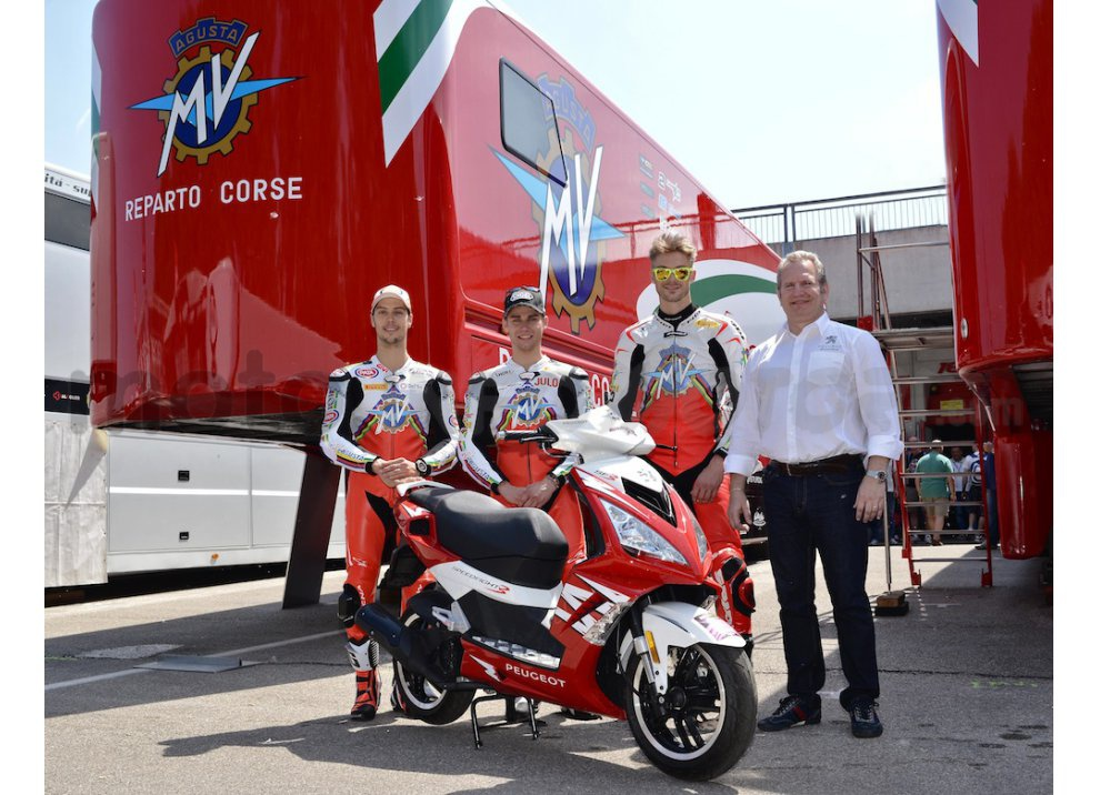 Peugeot Scooters è partner di MV Agusta in Superbike