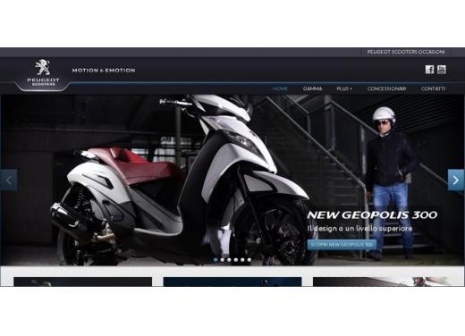 Peugeotscooters.it, il nuovo sito dedicato agli scooter Peugeot - Foto 2 di 5
