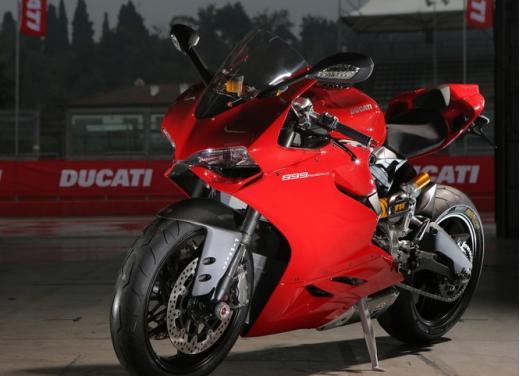 Pneumatici Pirelli Diablo Rosso Corsa sulla nuova Ducati 899 Panigale