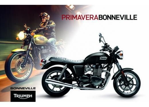Primavera in Bonneville, Triumph taglia il prezzo della sua classic bike