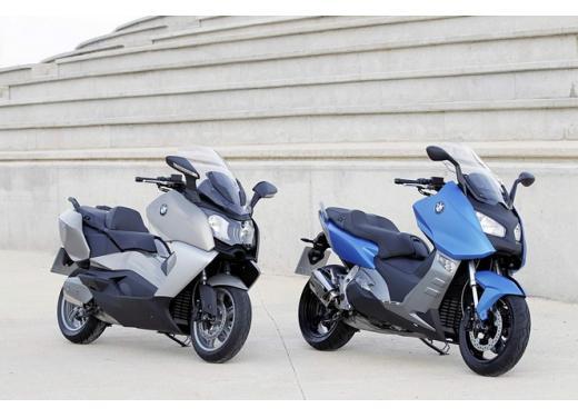BMW C 600 Sport e BMW C 650 GT, porte aperte per i maxi scooter BMW - Foto 2 di 8