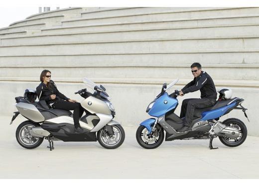 BMW C 600 Sport e BMW C 650 GT, porte aperte per i maxi scooter BMW - Foto 1 di 8