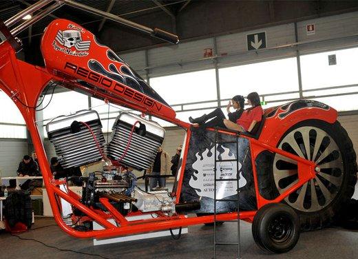 Motor Bike Expo 2012: chopper gigante by Regio Design - Foto 5 di 9