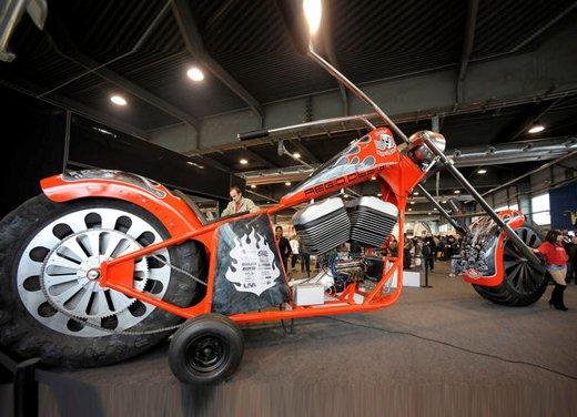 Motor Bike Expo 2012: chopper gigante by Regio Design - Foto 4 di 9