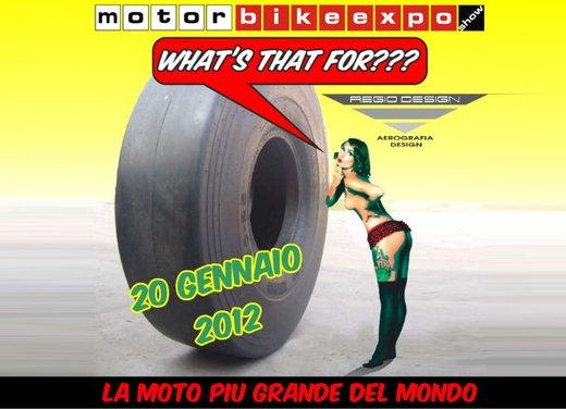 Motor Bike Expo 2012: chopper gigante by Regio Design - Foto 9 di 9