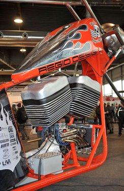 Motor Bike Expo 2012: chopper gigante by Regio Design - Foto 7 di 9