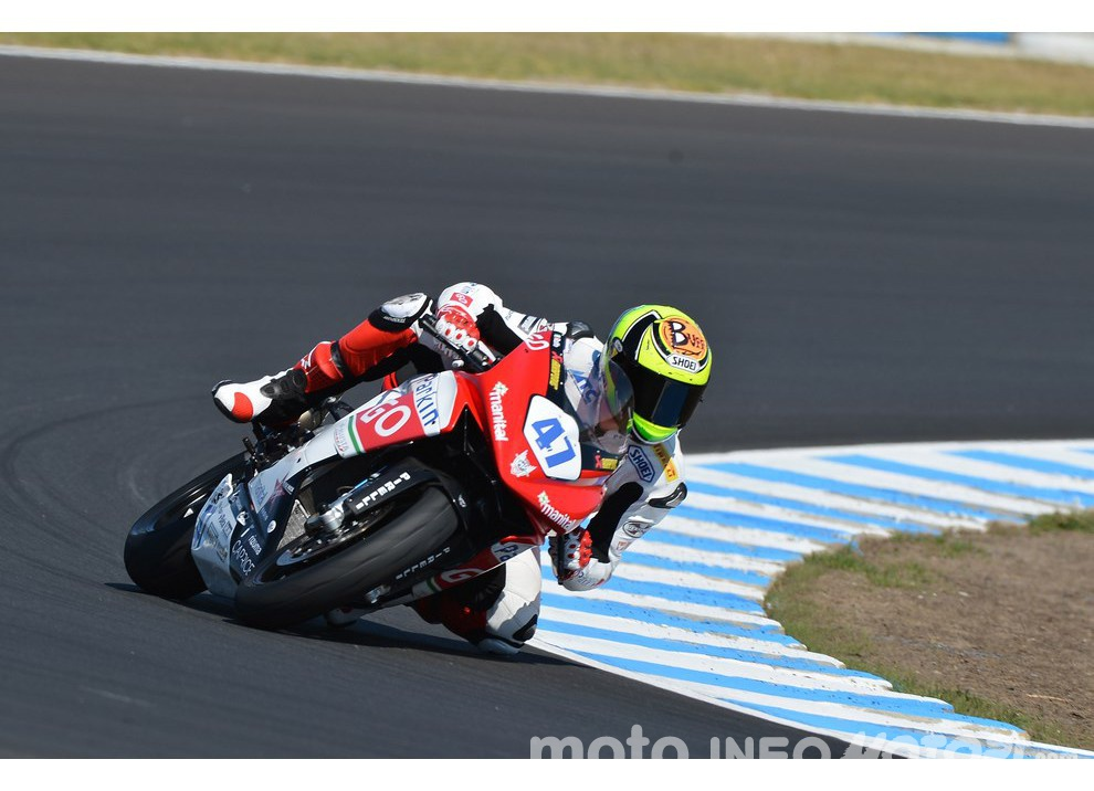 Roberto Rolfo con MV Agusta in Supersport per il 2016