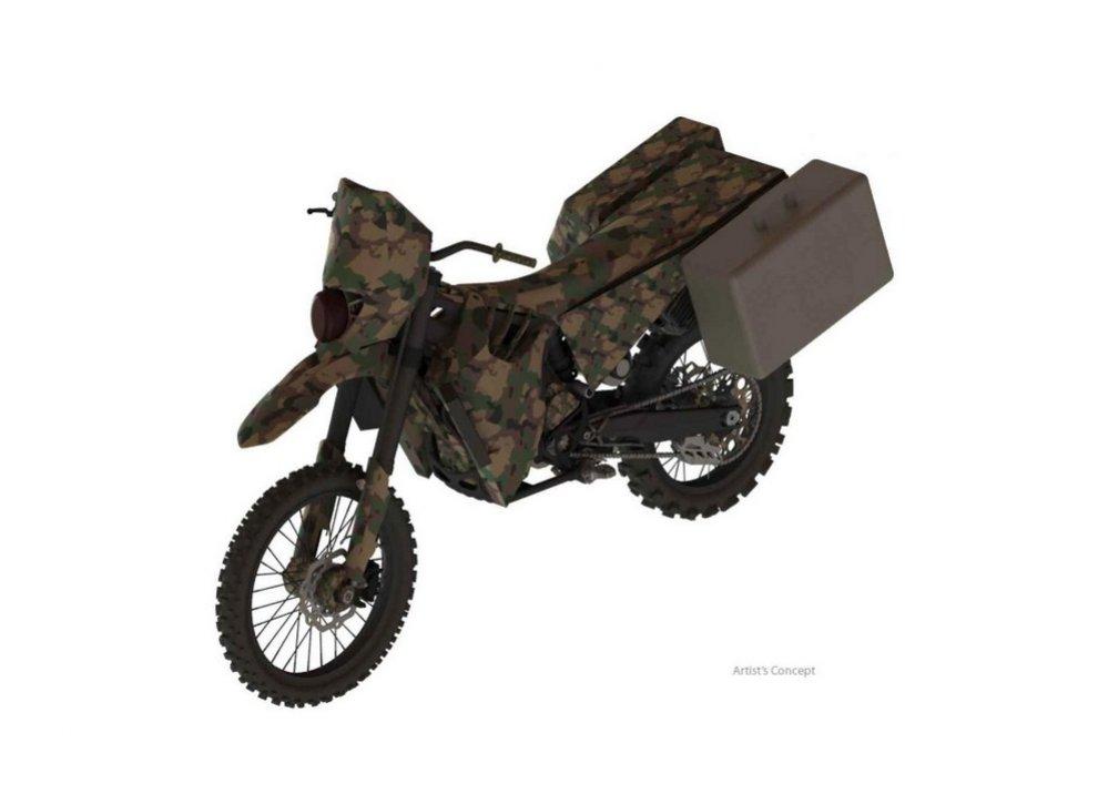 Silent Hawk, l'enduro ibrida per l' esercito americano. - Foto  di