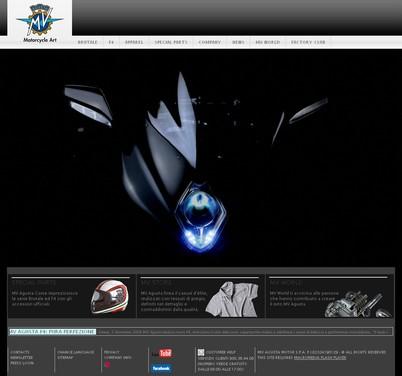 Nuovo sito MV Agusta - Foto  di