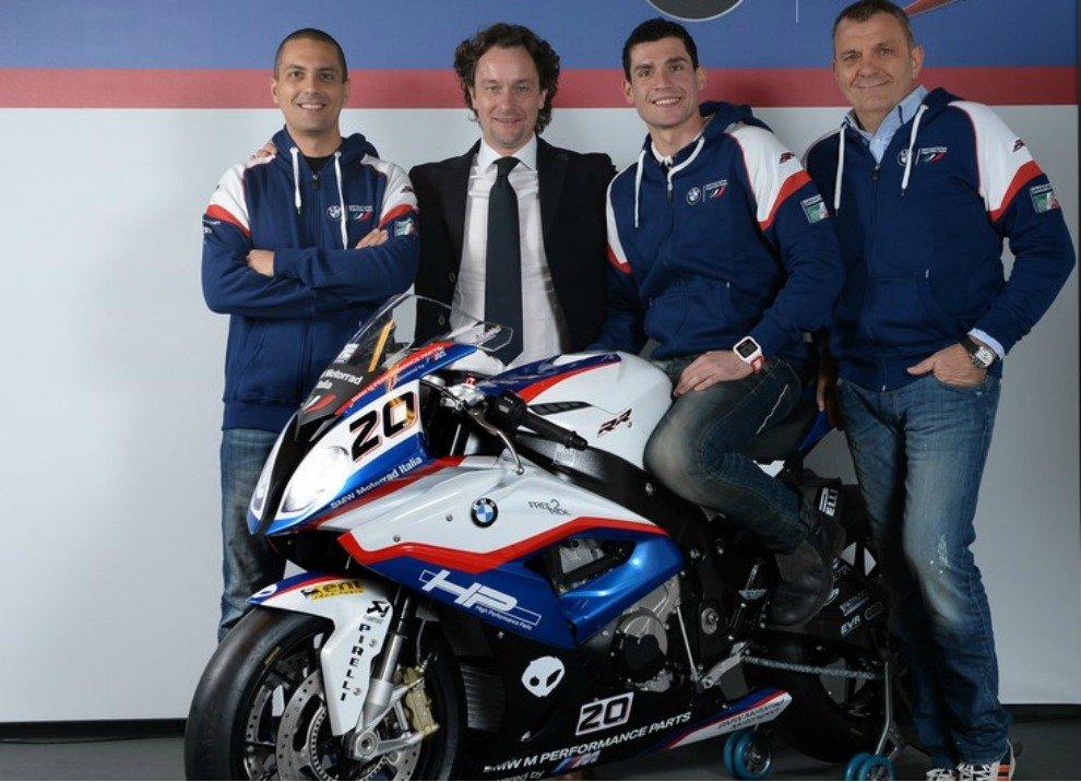 Superbike 2015, presentato il Team BMW Motorrad Italia
