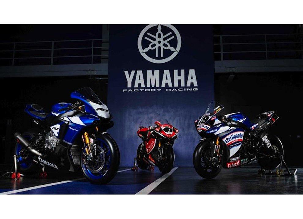 Superbike 2016, ritorno ufficiale di Yamaha con Guintoli, Lowes e un po' di Rossi