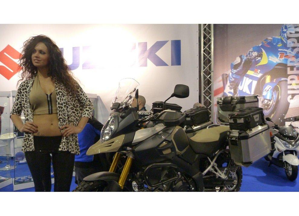 Suzuki al Motor Bike Expo di Verona 2015