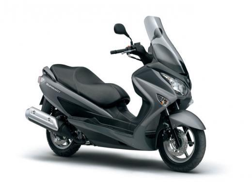 Suzuki Burgman 125 e 200 cc test ride - Foto 8 di 9