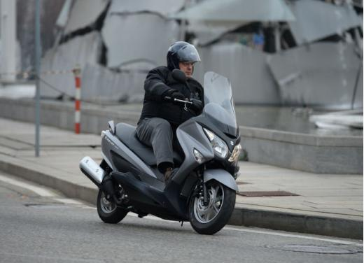 Suzuki Burgman 125 e 200 cc test ride