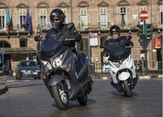 Suzuki Burgman 125 e 200 cc test ride - Foto 3 di 9