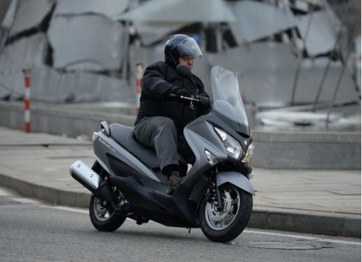 Suzuki Burgman 125 e 200 cc test ride - Foto 4 di 9