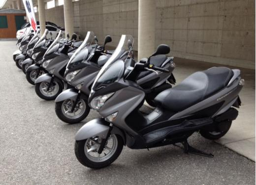 Suzuki Burgman 125 e 200 cc test ride - Foto 2 di 9