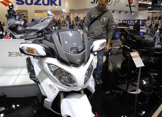 Suzuki Burgman 650 - Foto 7 di 45