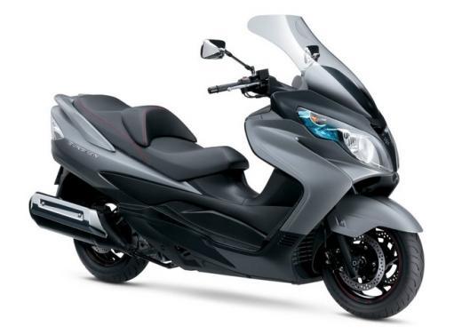 Suzuki Burgman 400 e 650 listino prezzi a partire da 7190 euro