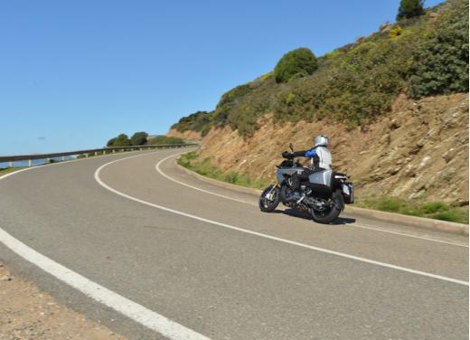 Aprilia Caponord 1200 Travel Pack, prova su strada della turistica dall'indole sportiva - Foto 8 di 54