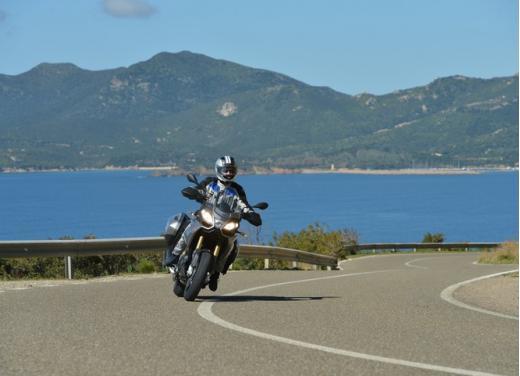 Aprilia Caponord 1200 Travel Pack, prova su strada della turistica dall'indole sportiva - Foto 4 di 54