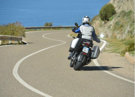 Aprilia Caponord 1200 Travel Pack, prova su strada della turistica dall'indole sportiva - Foto 5 di 54