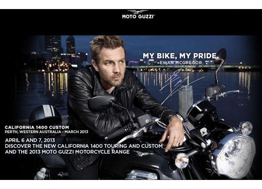 Ewan McGregor testimonial della nuova Moto Guzzi California 1400