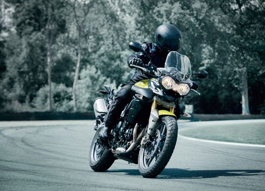 Triumph Tiger, la famiglia adventure bike della casa inglese - Foto 26 di 32
