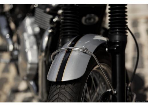 Triumph Bonneville, la naked retrò nella top ten delle vendite 2013 - Foto 9 di 10