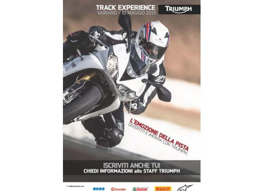 Triumph Track Experience: un giorno tra i cordoli - Foto 2 di 10