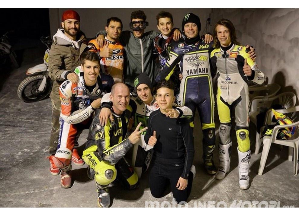 Valentino Rossi e la VR46 Academy per il 4° EnduRanch a Tavullia