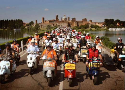Vespa World Days 2014: a Mantova l'edizione dei record