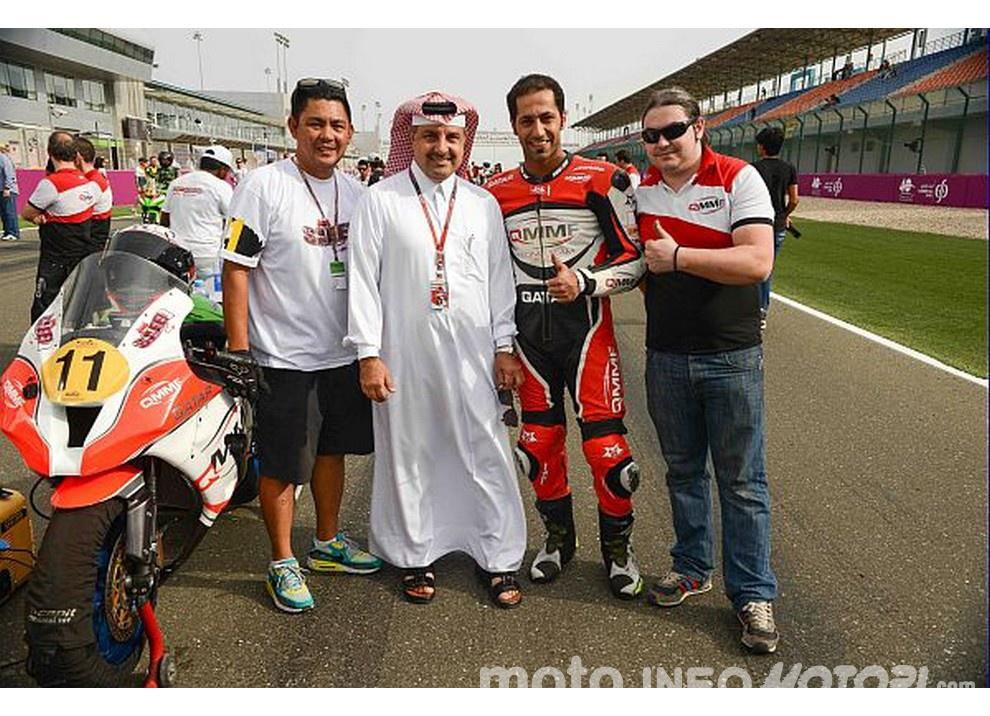 WSBK 2016: Il Team Pedercini Racing farà debuttare nel mondiale Superbike Saeed Al Sulaiti