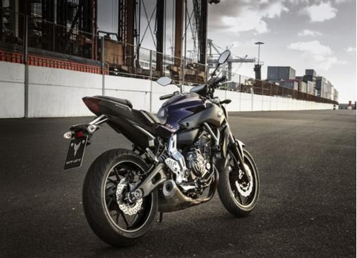 Yamaha MT-07 test ride - Foto 20 di 32
