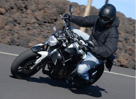 Yamaha MT-07 test ride