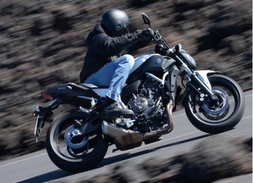 Yamaha MT-07 test ride - Foto 6 di 32