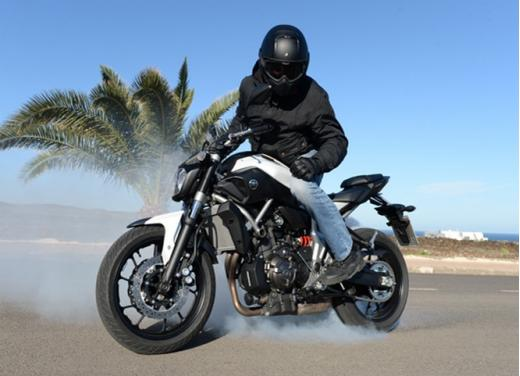 Yamaha MT-07 test ride - Foto 8 di 32