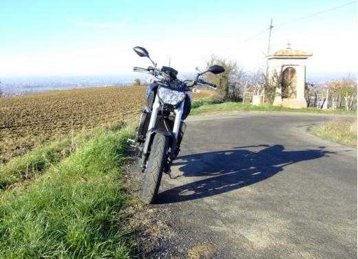 Yamaha MT-09 prova su strada - Foto 16 di 52