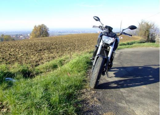Yamaha MT-09 prova su strada - Foto 18 di 52