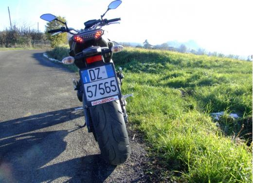 Yamaha MT-09 prova su strada - Foto 22 di 52