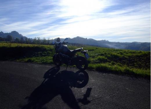 Yamaha MT-09 prova su strada - Foto 40 di 52